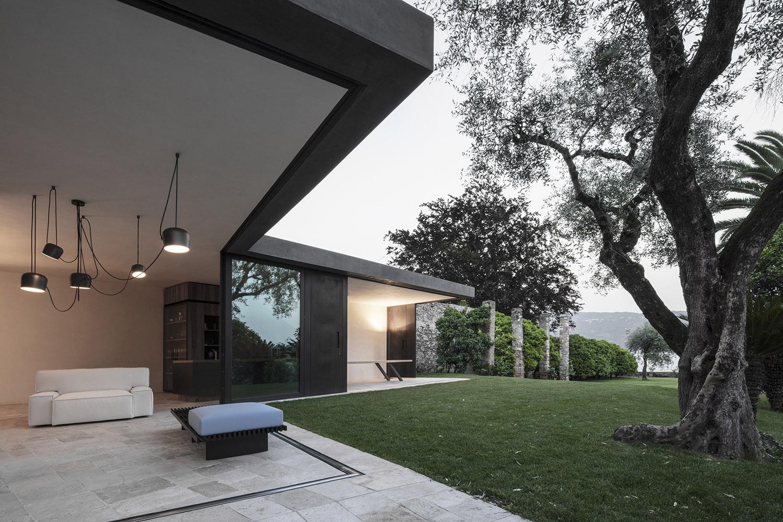 living room and garden gustav willeit