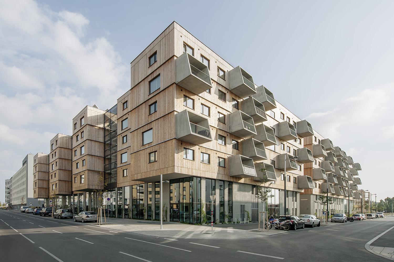 Wood Housing Seestadt Aspern © hertha hurnaus | berger+parkkinen architekten | querkraft architekten