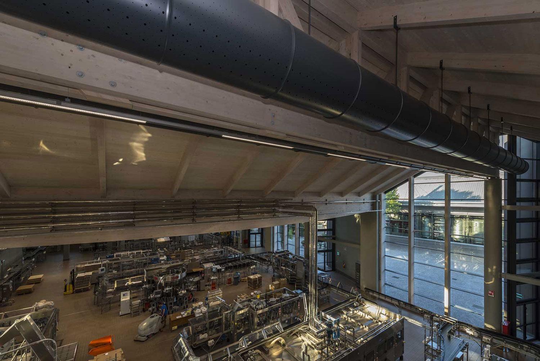 interno dell'impianto  Moreno Maggi