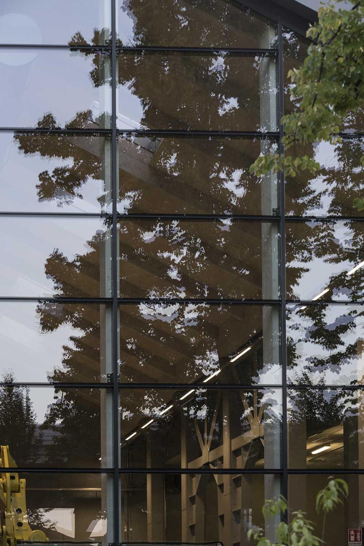 la facciata vetrata Moreno Maggi