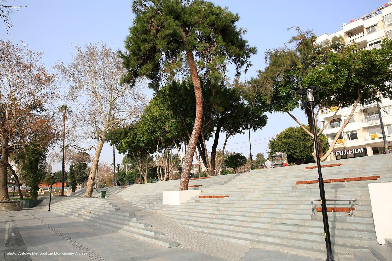 Ramp- Stair Antalya Metropolitan Municipality Archive