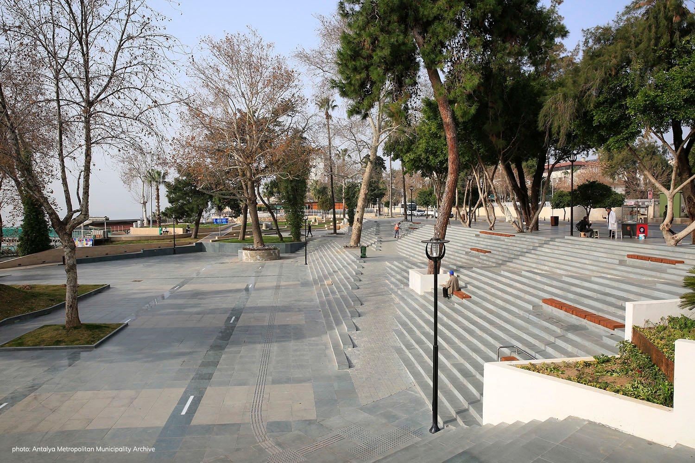 Ramp- Stair 3 Antalya Metropolitan Municipality Archive