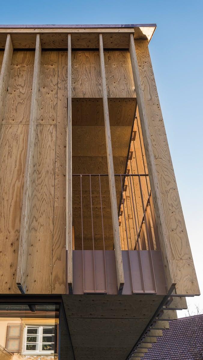 detail railing markus tauber architectura