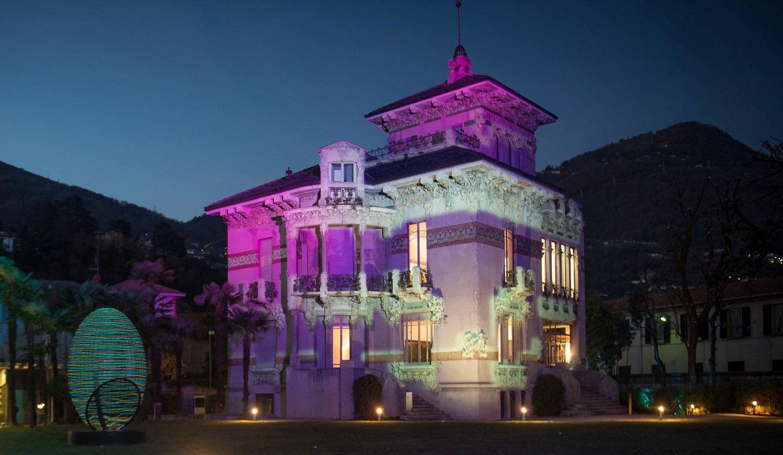 Museo Villa Bernasconi: esterno di notte Andrea Butti