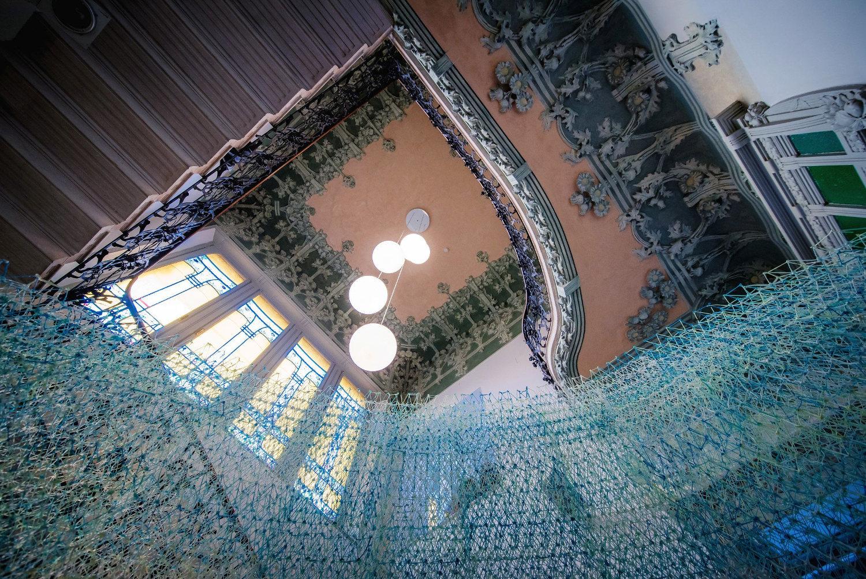 a3 Museo Villa Bernasconi: scalone d'onore Andrea Butti