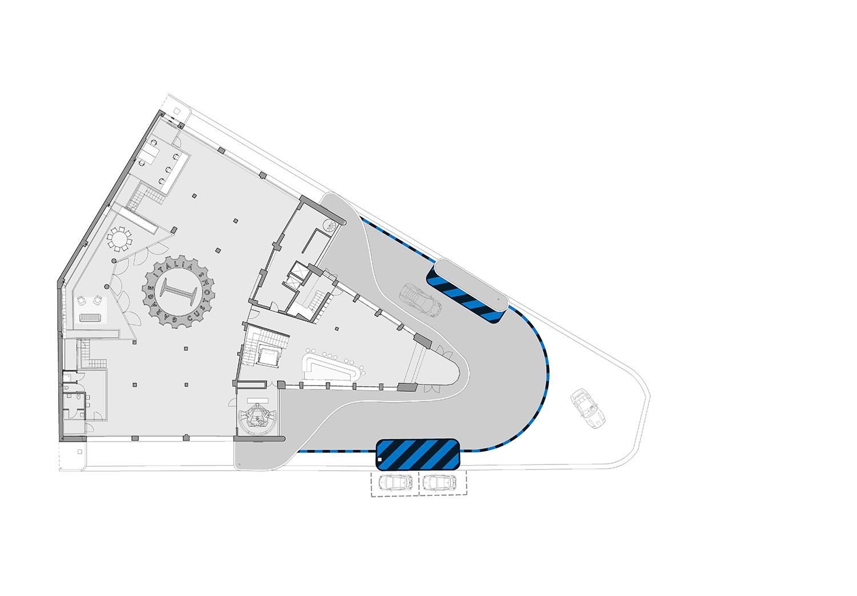 Ground floor © aMDL architetto Michele De Lucchi S.r.l.}