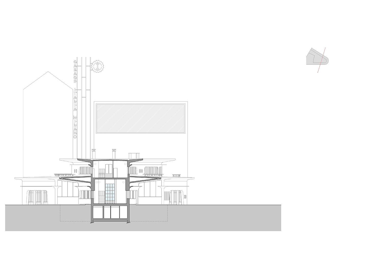 Section © aMDL architetto Michele De Lucchi S.r.l.}