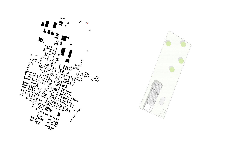 Urban setting and master plan }
