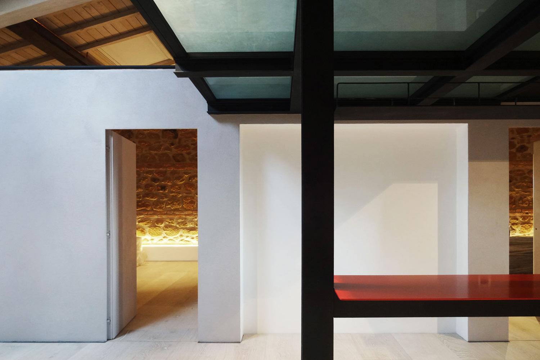dettaglio del living cafelab architetti