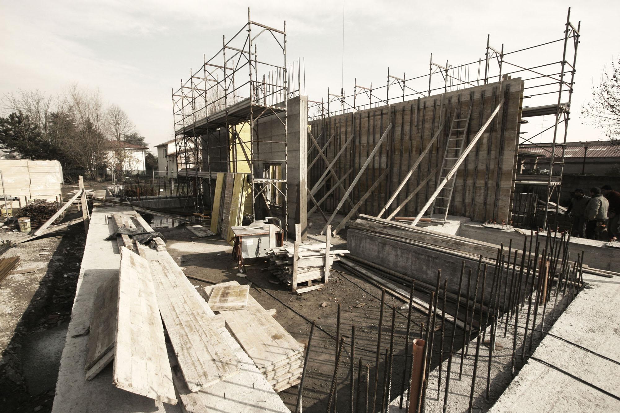 Construction site }