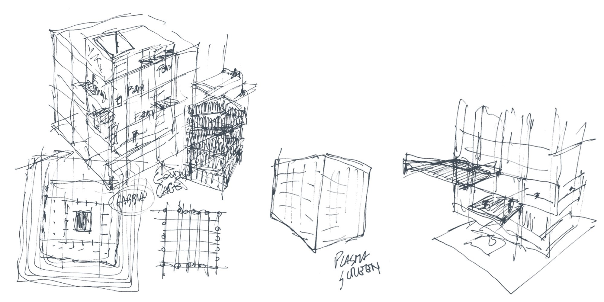 concept sketches }