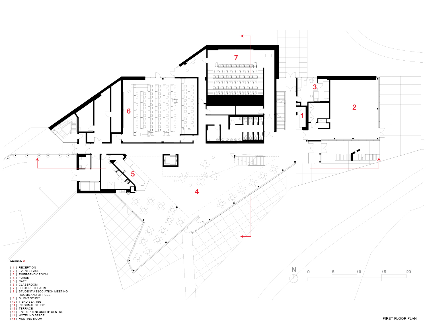 First Floor Plan Teeple Architects Inc.}