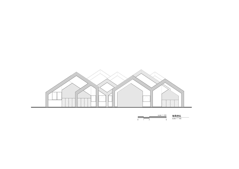 North Elevation Unsangdong Architects}