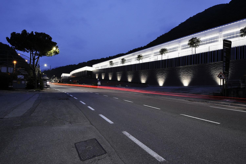 Night view from the road Luigi Serboli