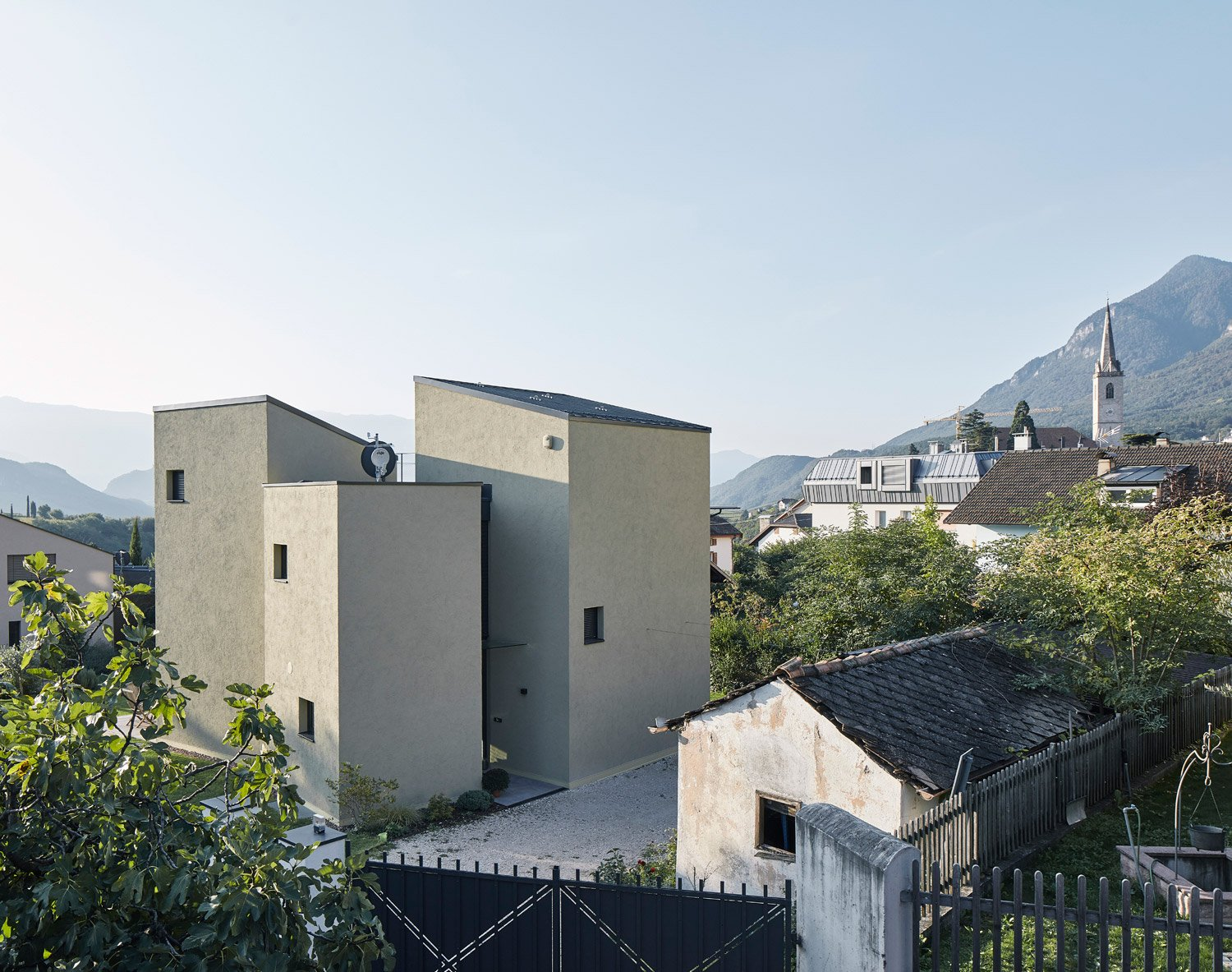 House D consists of four tower-like volumes David Schreyer
