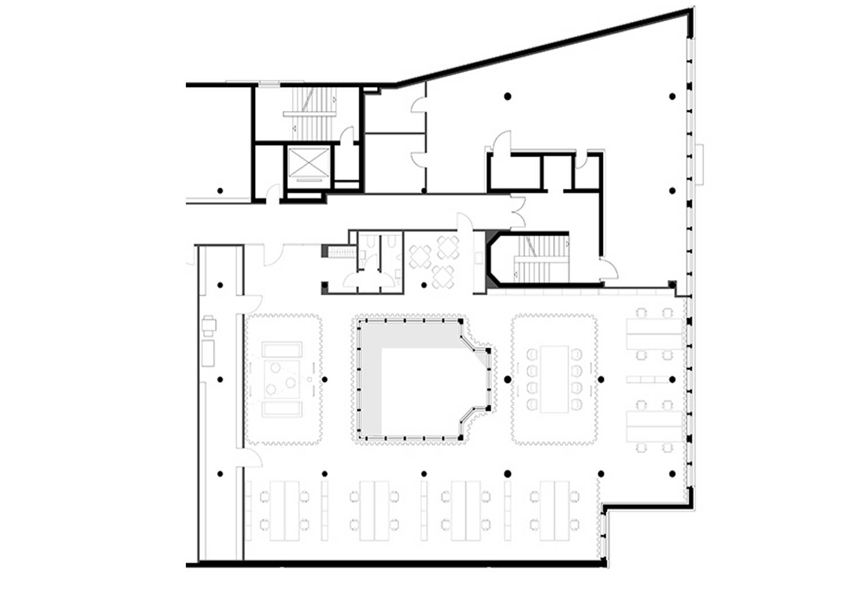floor plan close up }