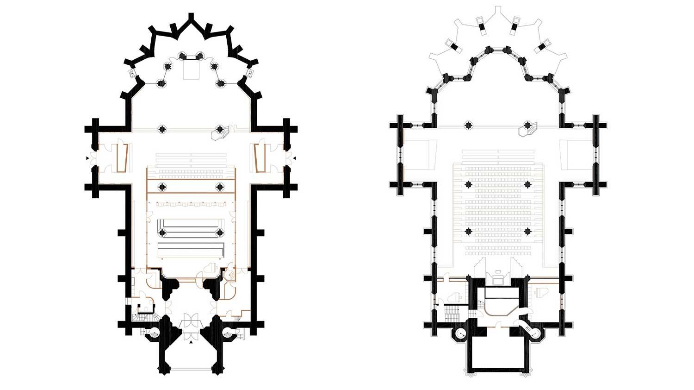 Floor plan total }