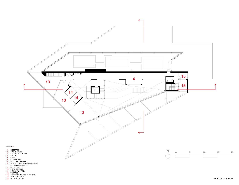 Third Floor Plan Teeple Architects Inc.}