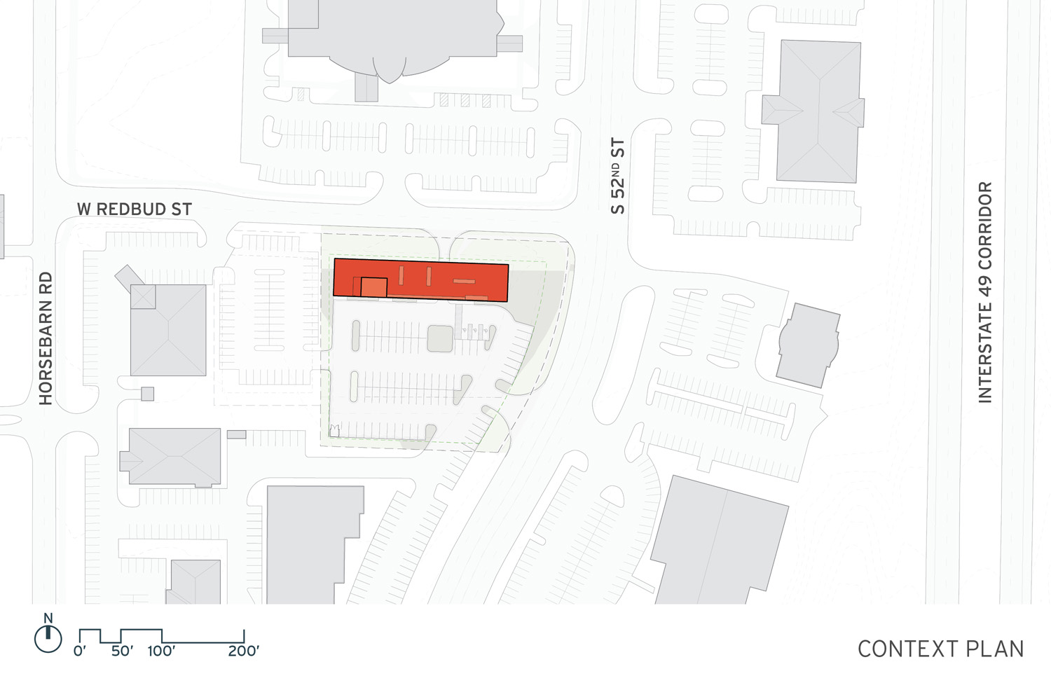 Site Plan with Context }