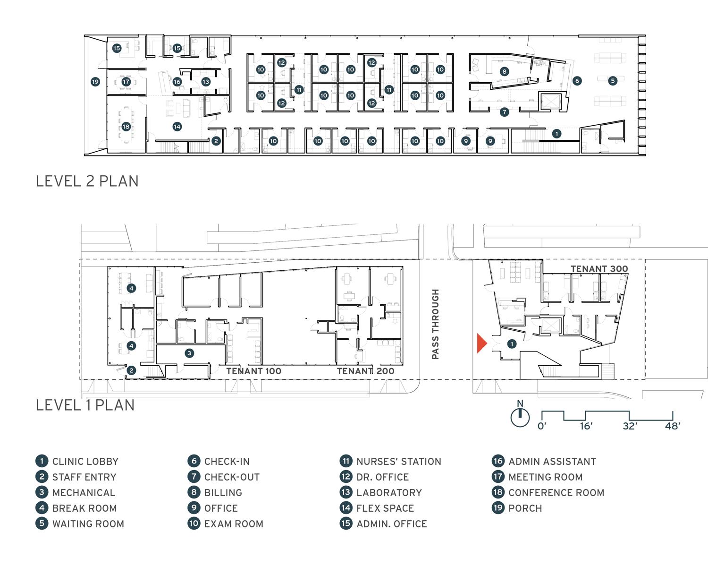 Marlon Blackwell Architects Harvey Clinic