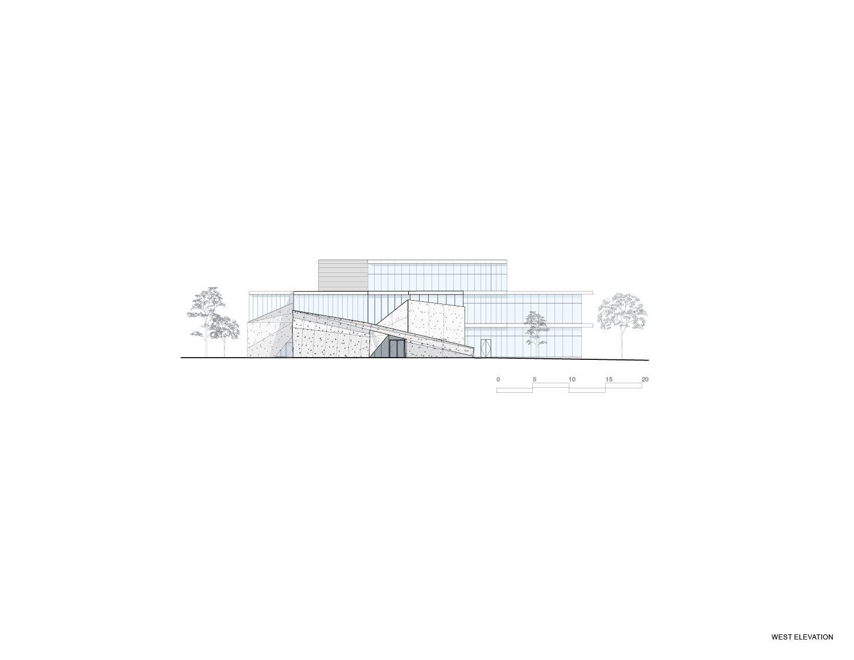West Elevation Teeple Architects Inc.}