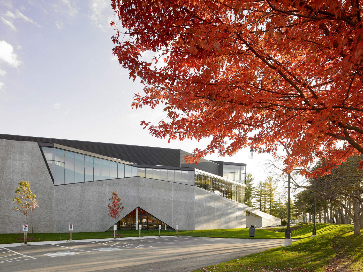 Teeple Architects Inc Trent University Student Centre