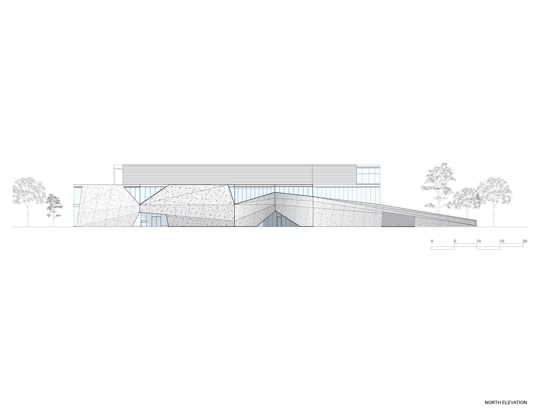 North Elevation Teeple Architects Inc.}
