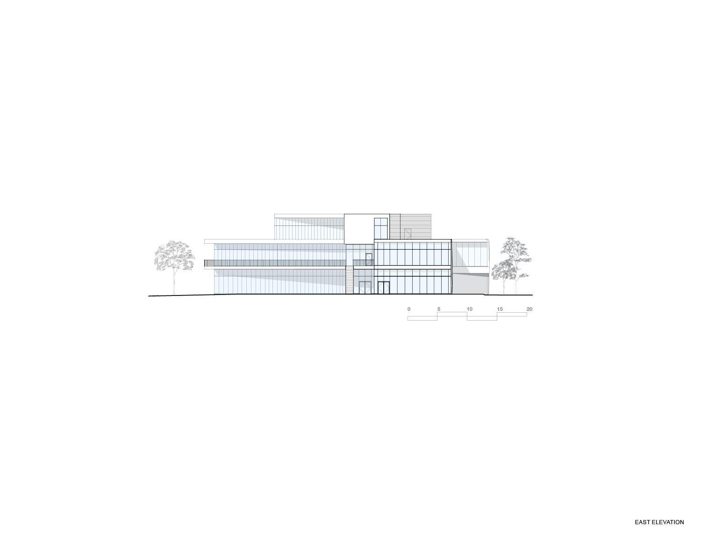 East Elevation Teeple Architects Inc.}