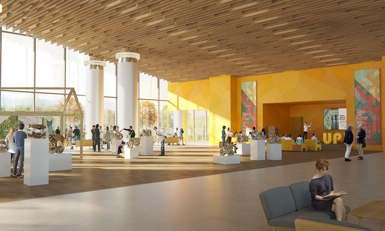 Exhibition Hall Adnan Kazmaoğlu Mimarlik Araştırma Merkezi