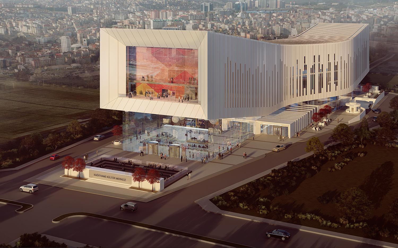 Front View 02 Adnan Kazmaoğlu Mimarlik Araştırma Merkezi