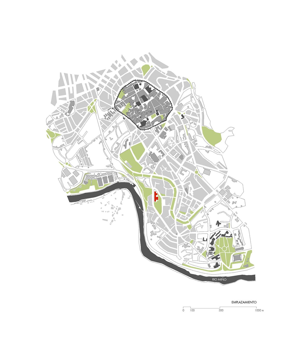 Location plan Paredes Pedrosa Arquitectos}