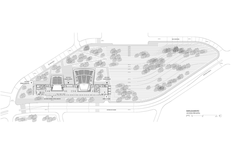 Site plan Paredes Pedrosa Arquitectos}