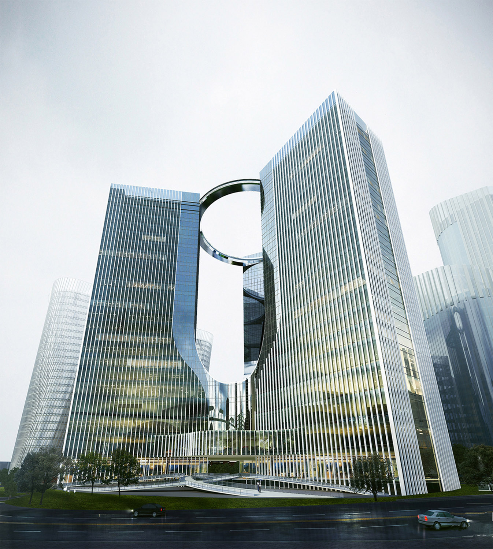Xiantao Big Data Valley - Towers