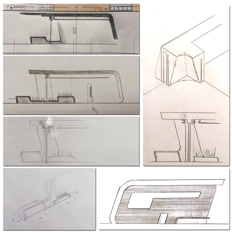 sketches 001 Ariel Isaac Franco Arch Studio}
