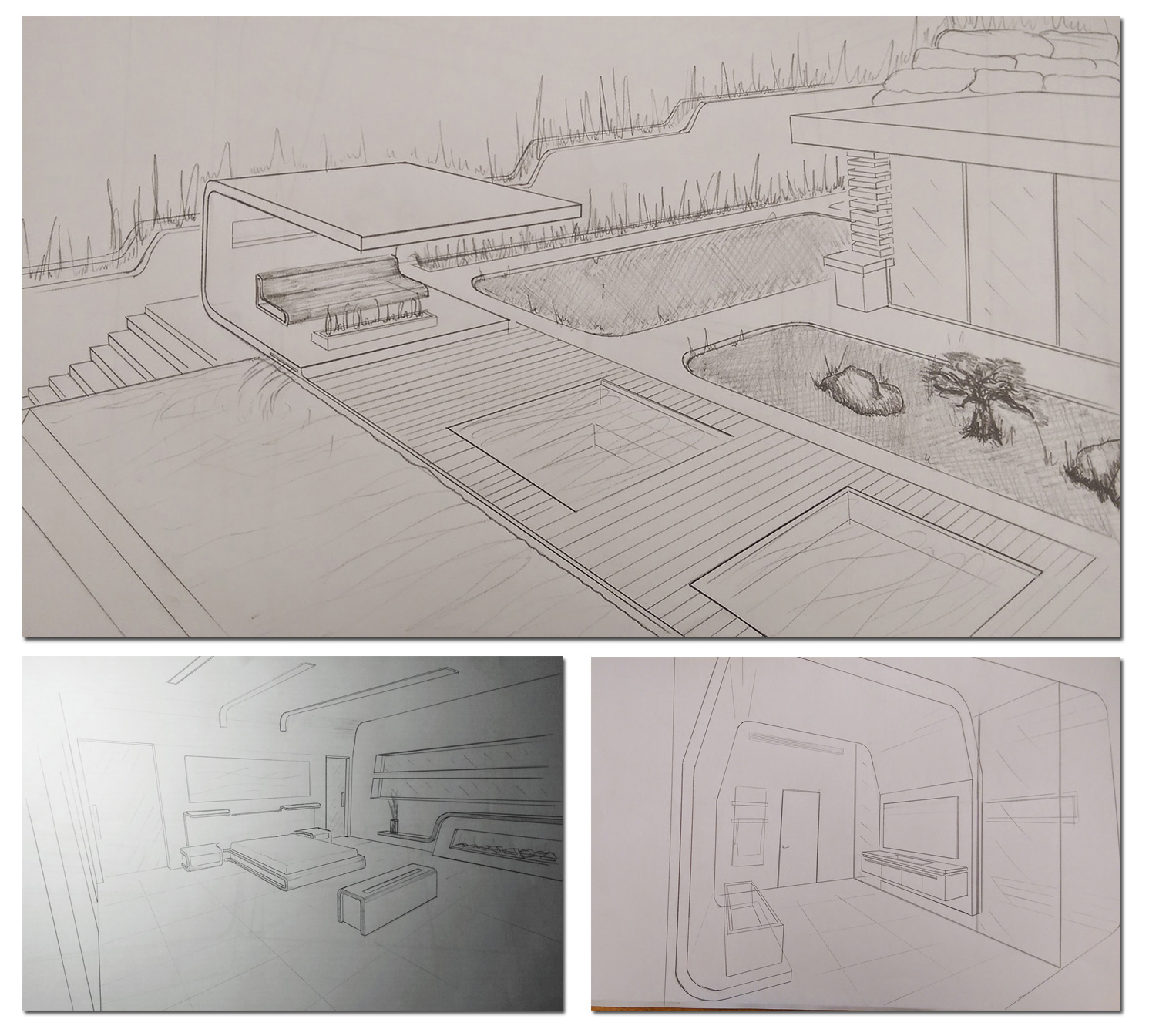 axons sketches 001 Ariel Isaac Franco Arch Studio}
