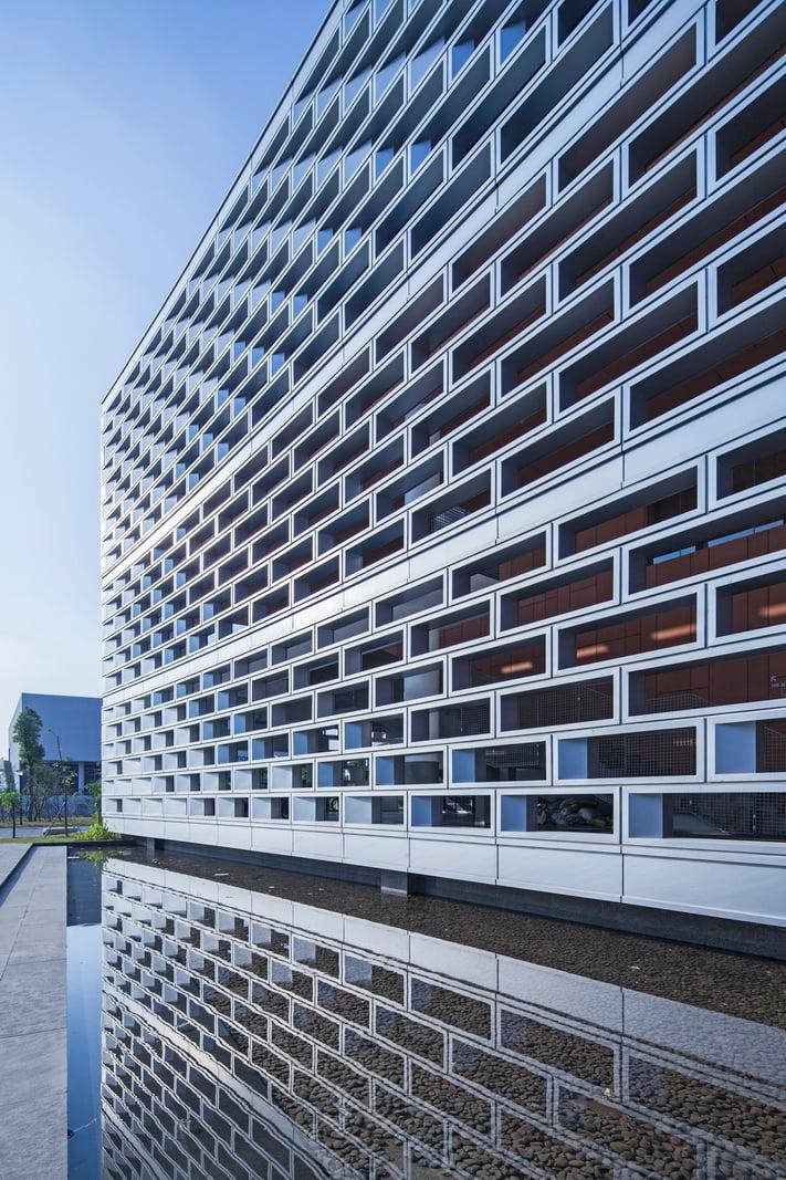 Semi-unitized Aluminum Curtain Wall
