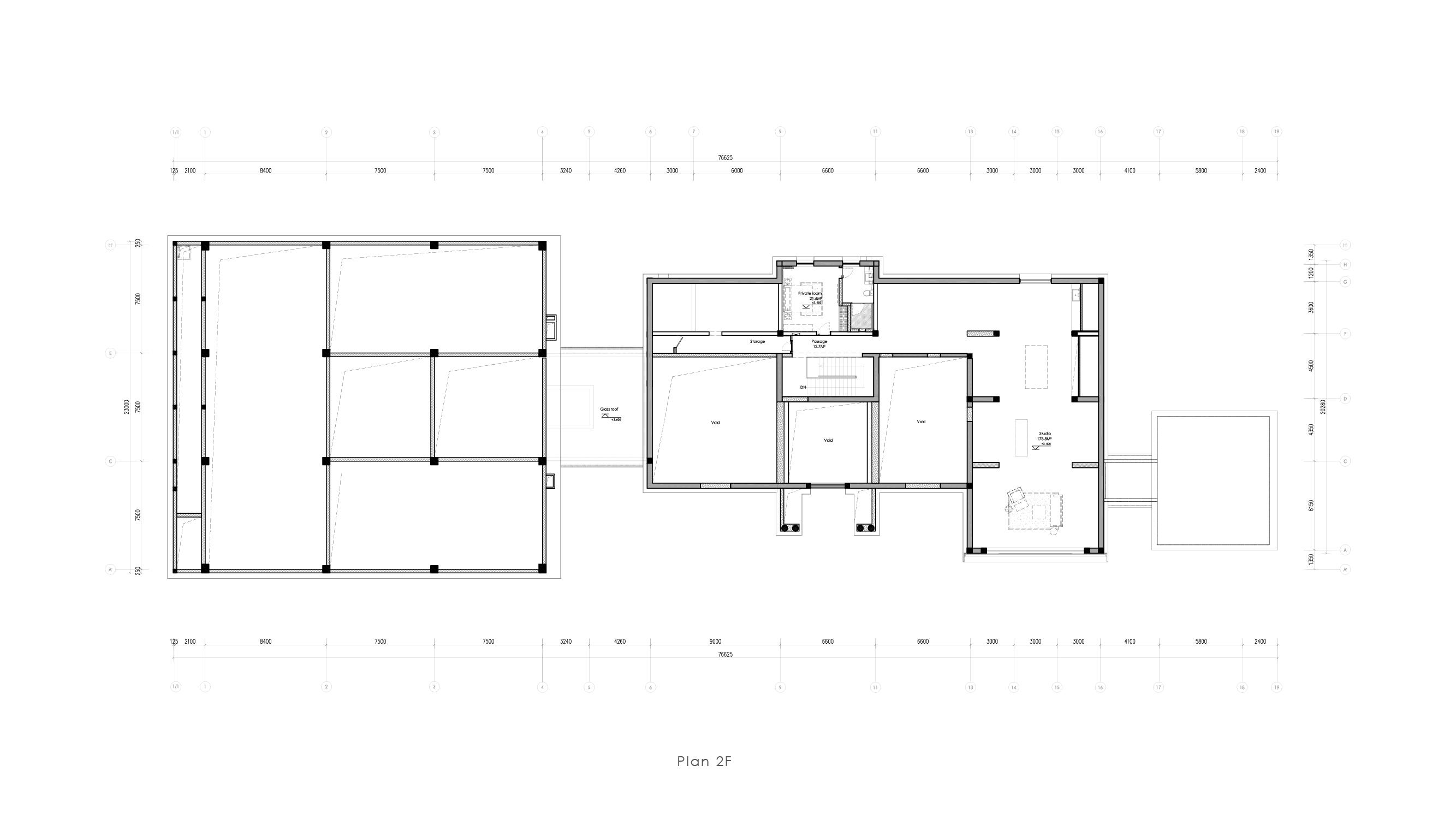 Museum plan - 2F Vermilion Zhou Design Group}