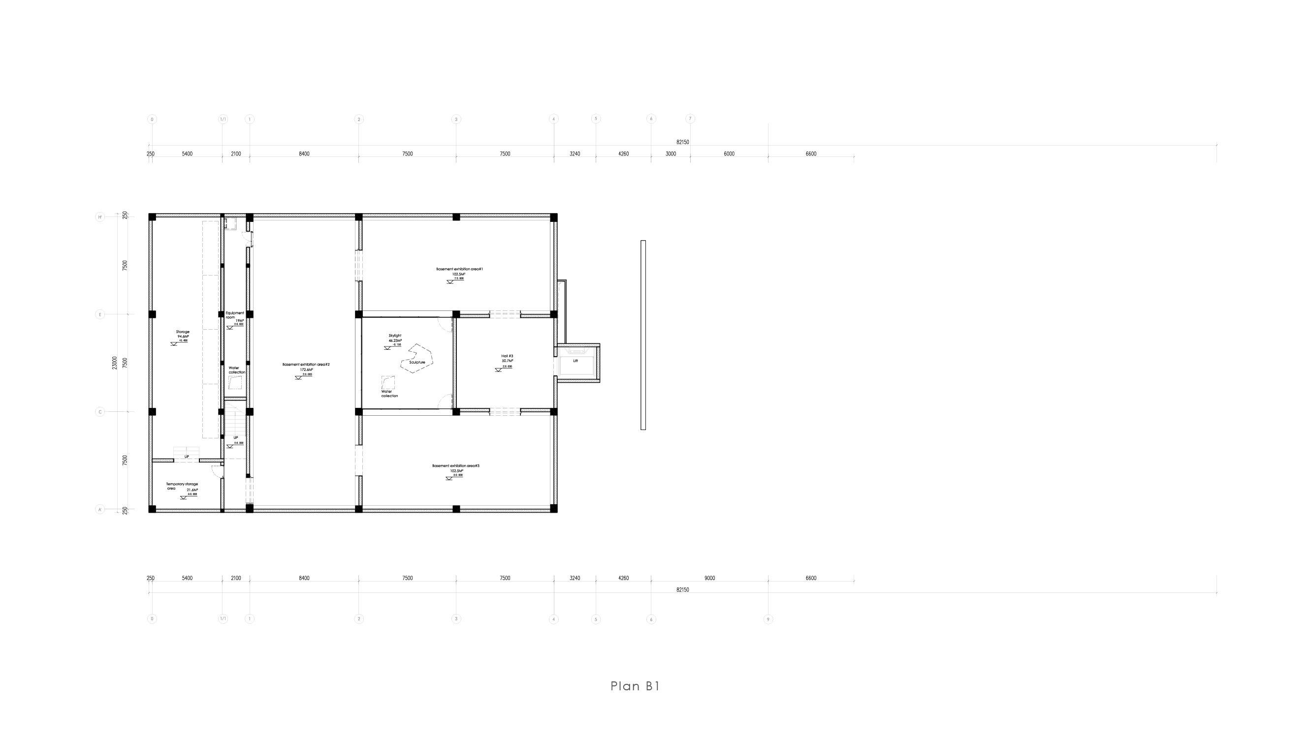Museum plan - B1 Vermilion Zhou Design Group}