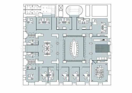 Planimetria Berarducci Architecture}