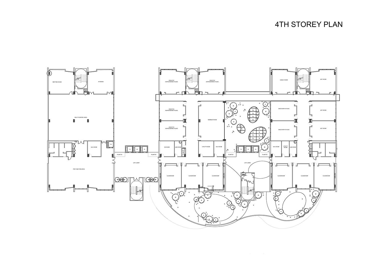 4th Storey Plan }