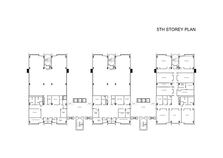 5th Storey Plan }