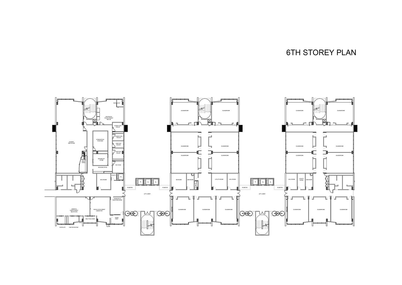 6th Storey Plan }