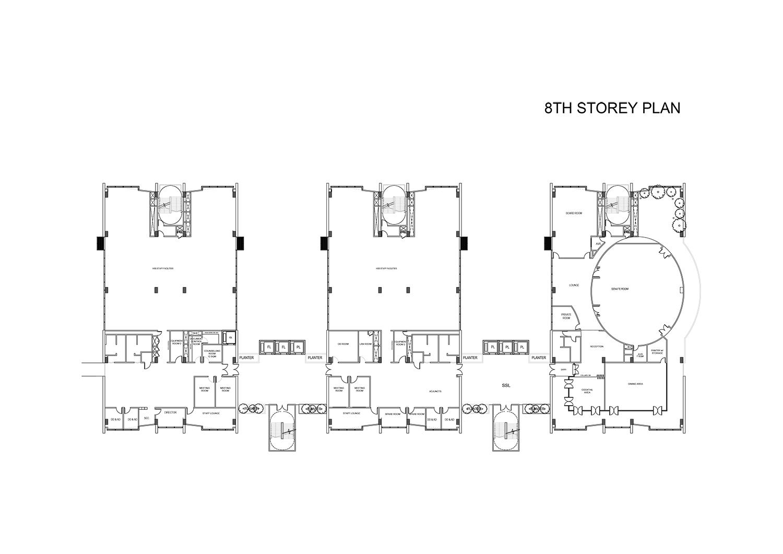 8th Storey Plan }
