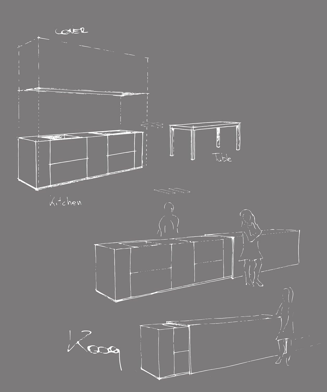 Kooq concept sketch 3ndy Studio }