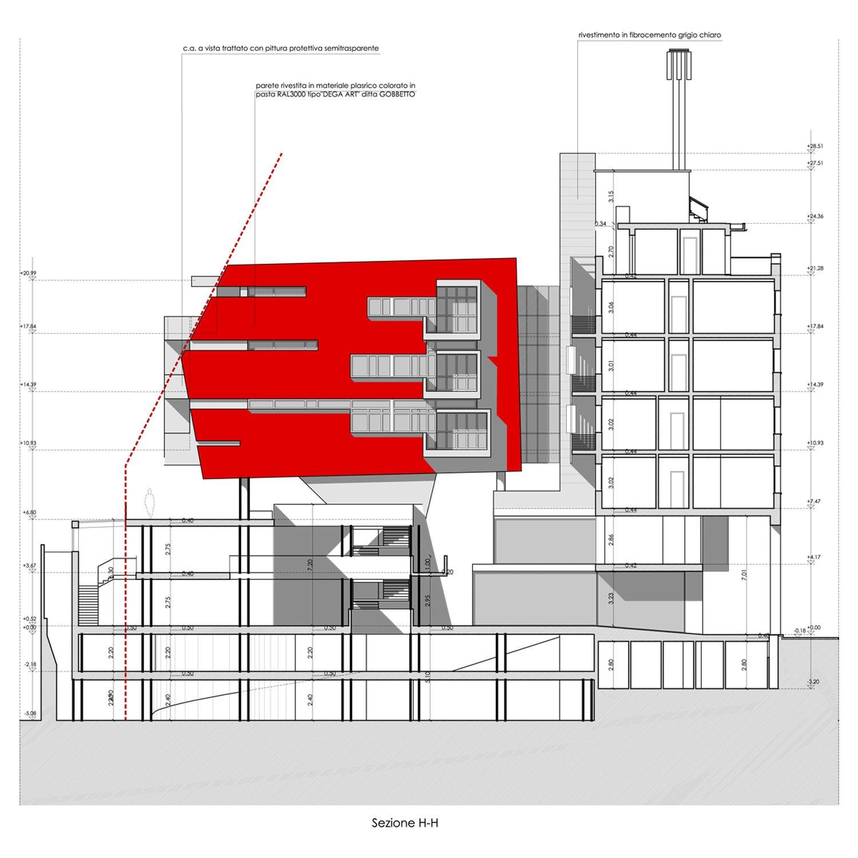 SEZIONE 2 © by GBA Studio srl / Gianluca Brini - Architetto}