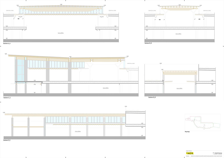Sections © architetto Michele De Lucchi S.r.l.}