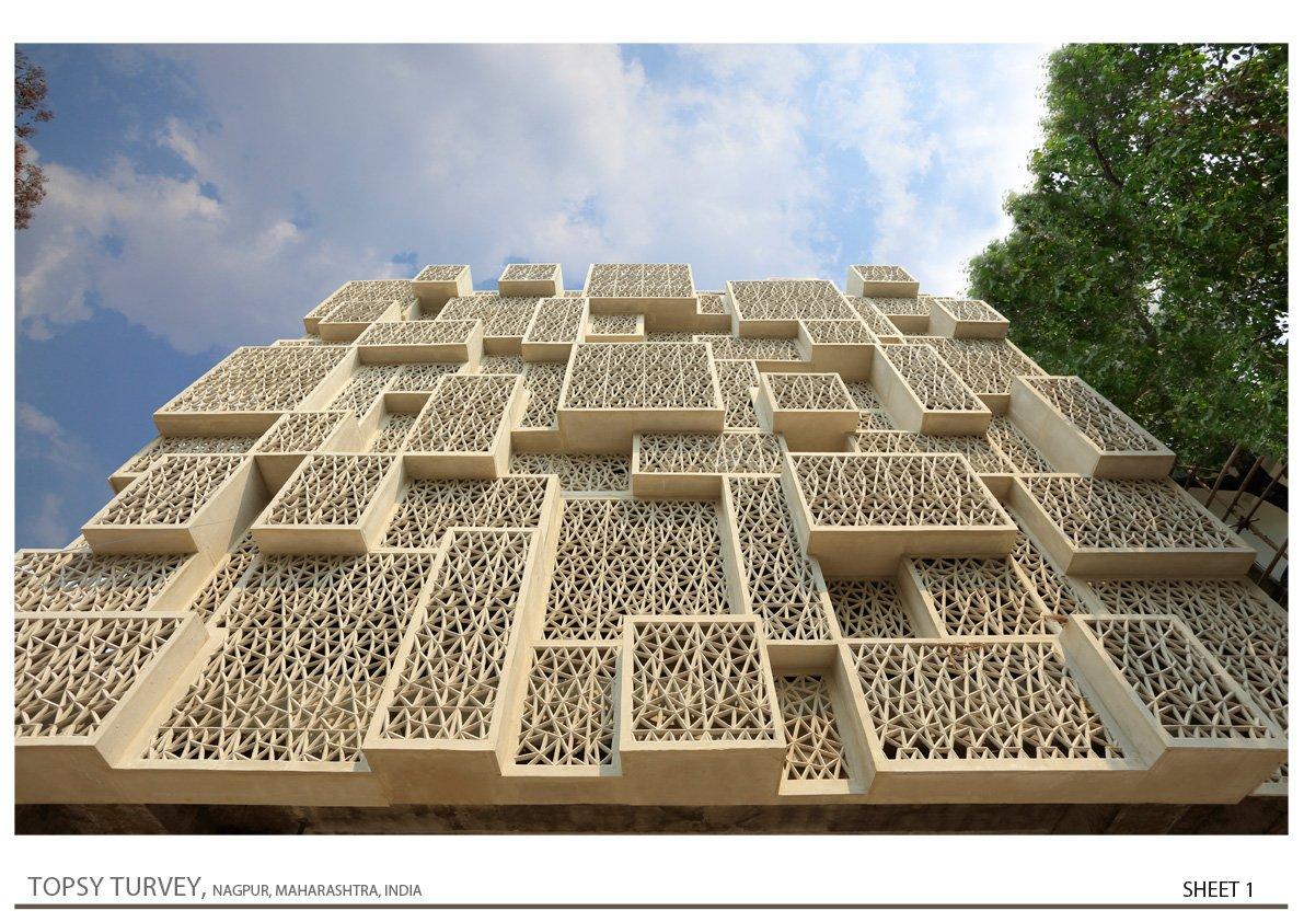 West Side View Zeel Architects/ Ashish Bhonde