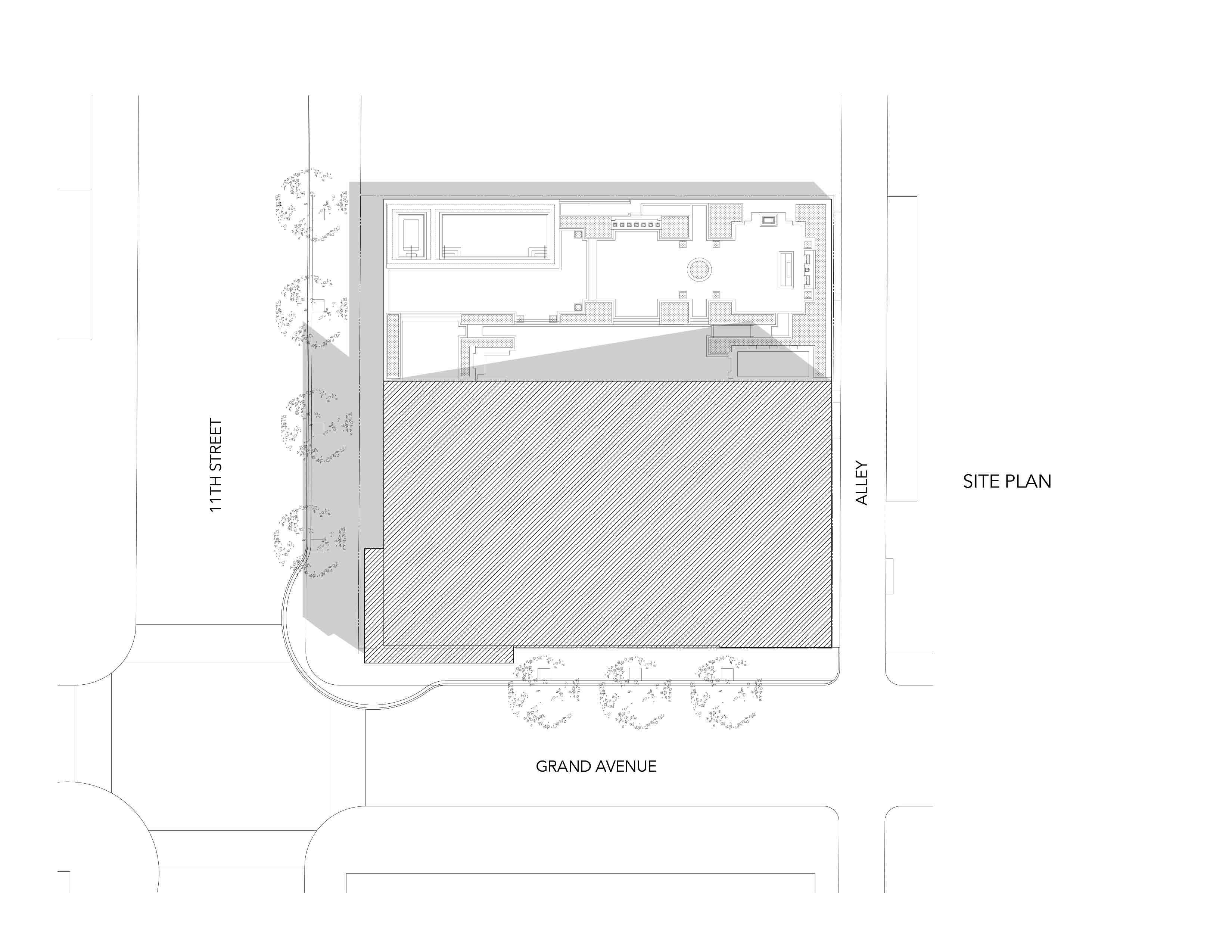 Ten50 Site Plan }