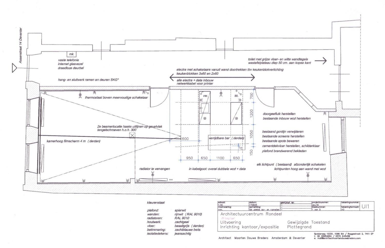 floor plan with kitchen MDB