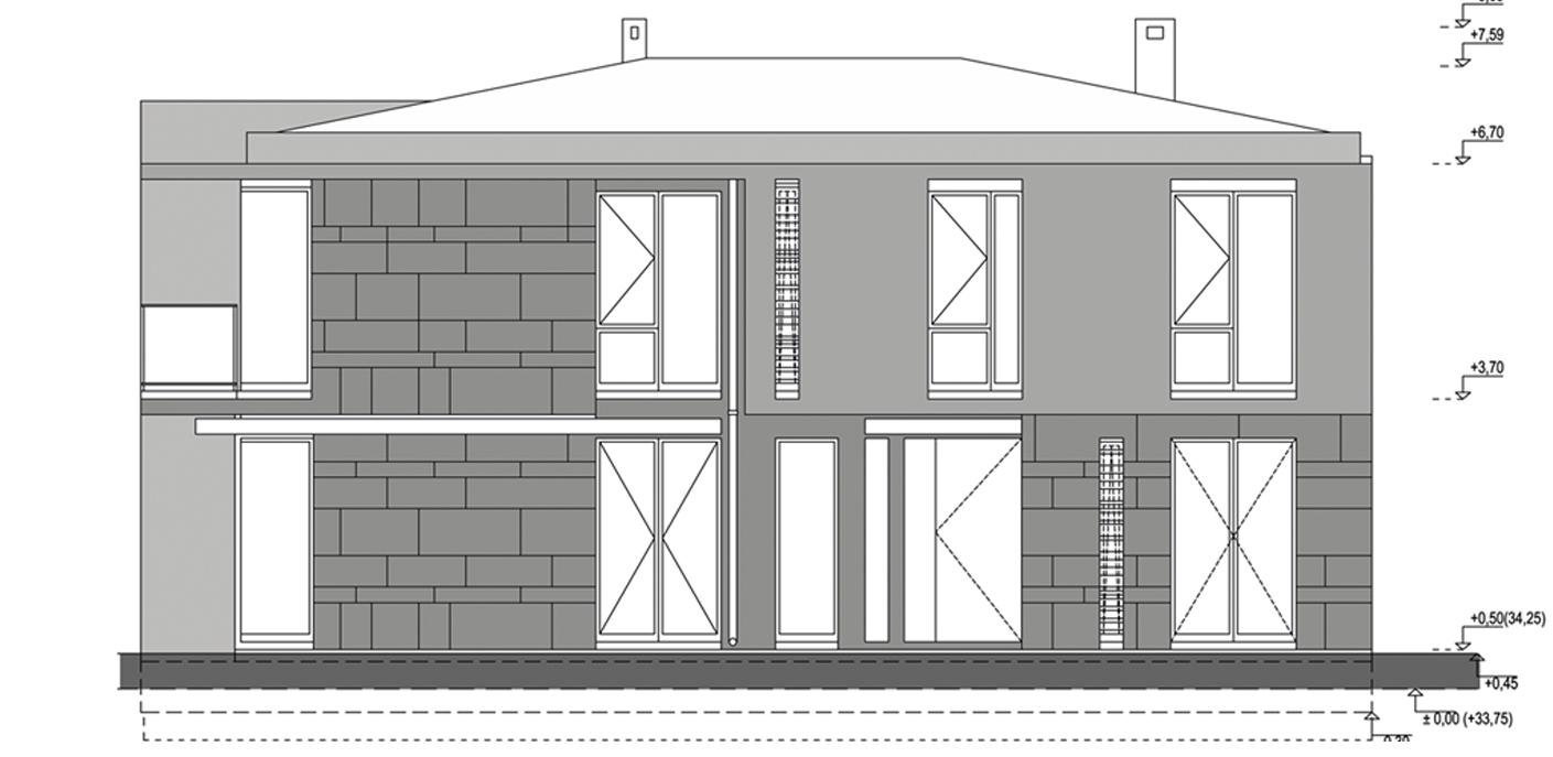 Villa Type A Beyaz Atolye Arcitecture}